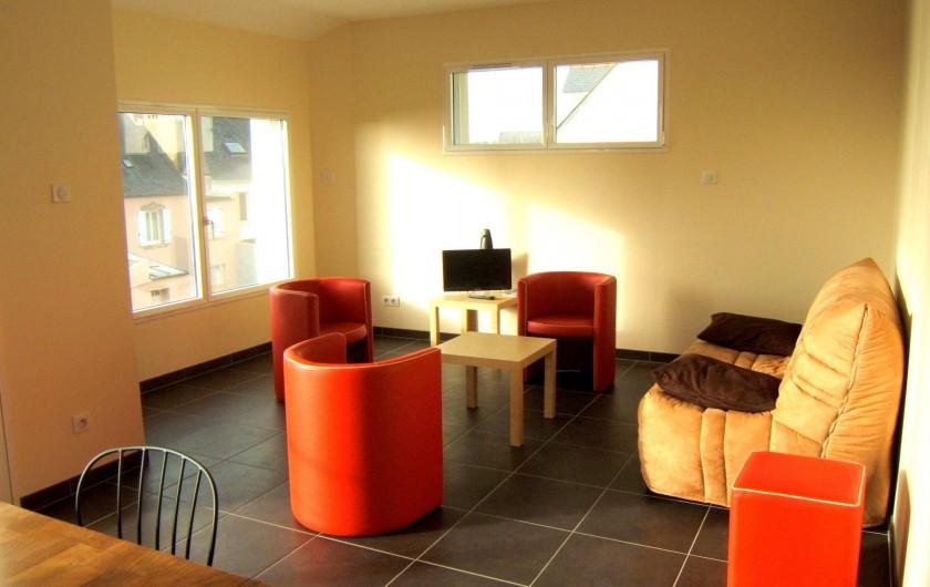 Location de vacances - Villa à Audierne - salon étage
