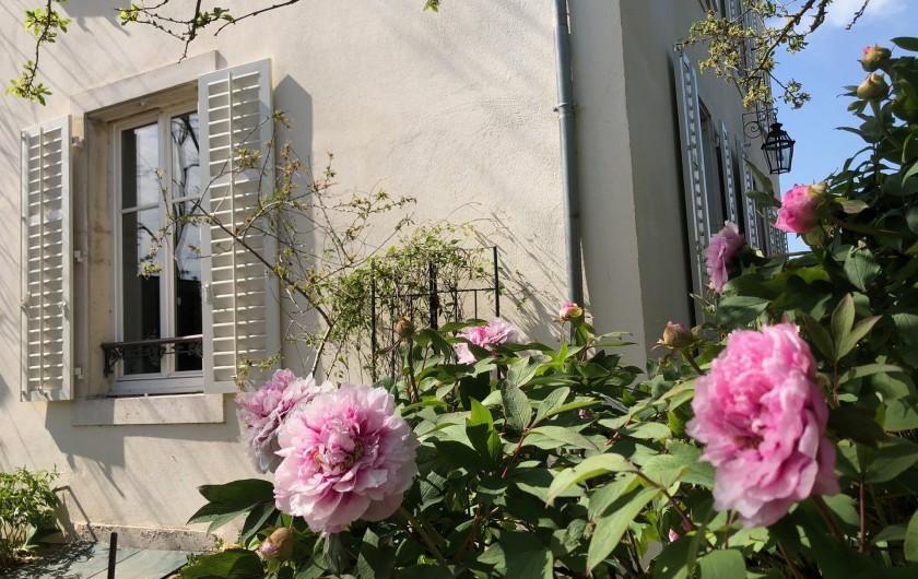 Location de vacances - Gîte à Tonnoy - le jardin fleuri