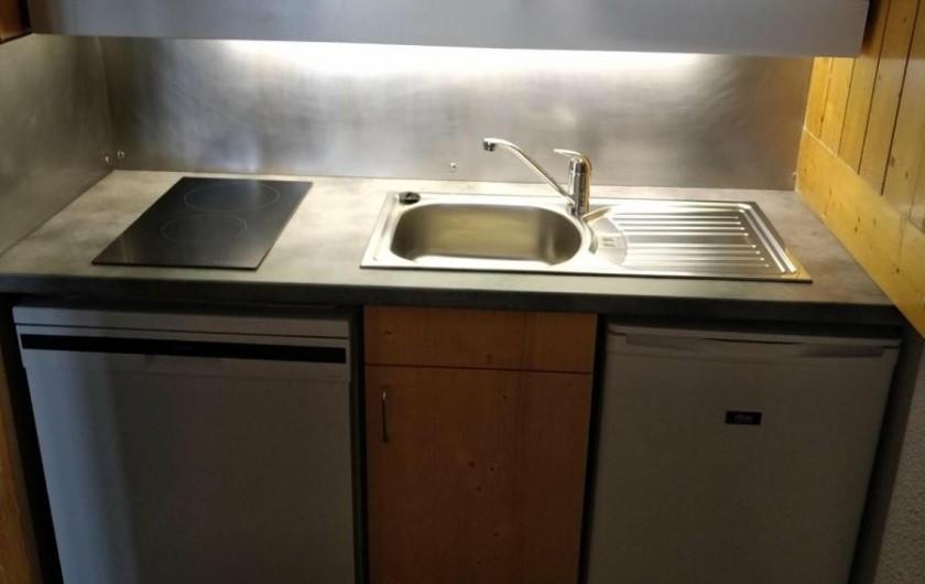 Location de vacances - Appartement à Arc 1800 - cuisine