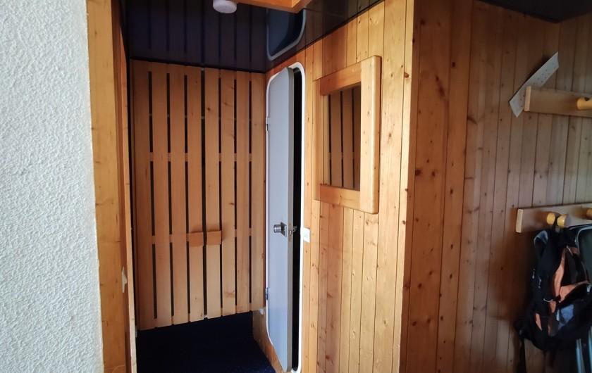 Location de vacances - Appartement à Arc 1800 - Dégagement