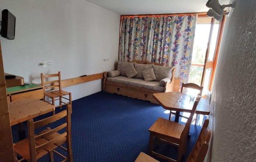 Location de vacances - Appartement à Arc 1800 - Pièce de vie