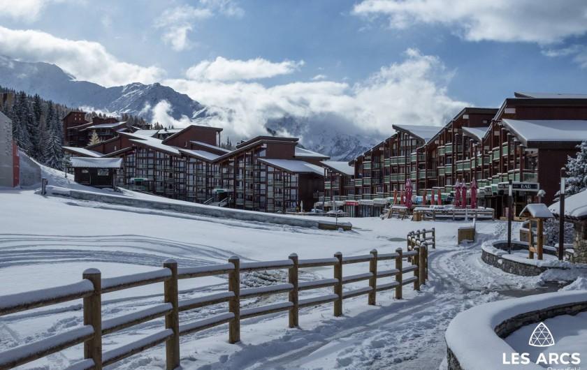 Location de vacances - Appartement à Arc 1800 - front de neige