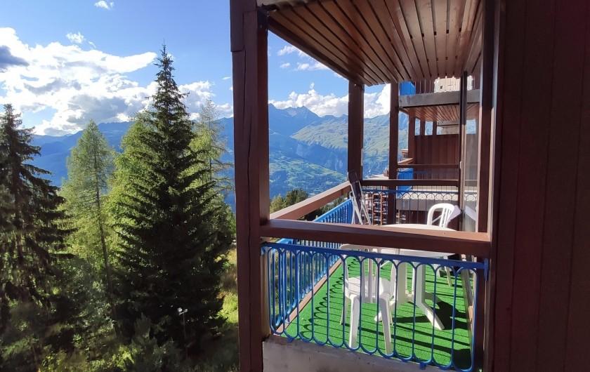 Location de vacances - Appartement à Arc 1800 - Balcon