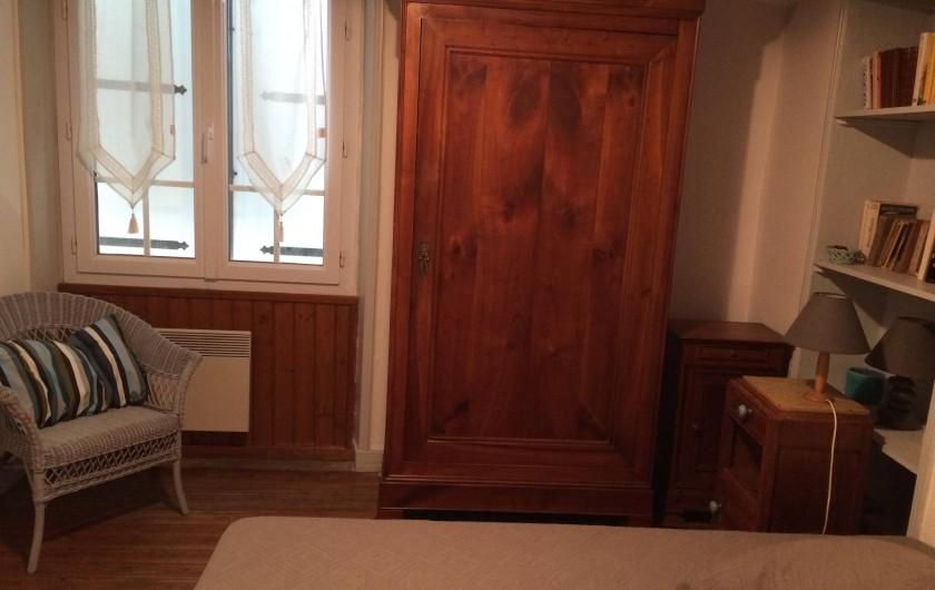 Location de vacances - Villa à Saint-Hilaire-de-Riez - Chambre 2 vue mer