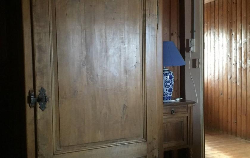 Location de vacances - Villa à Saint-Hilaire-de-Riez - Chambre 4 arrière de la maison