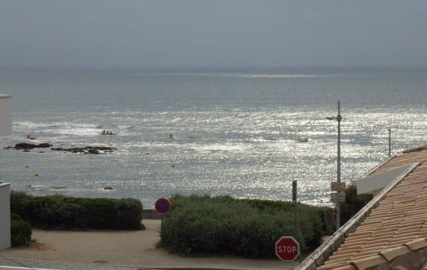 Location de vacances - Villa à Saint-Hilaire-de-Riez - Rue de la Chapelle vue mer depuis la maison