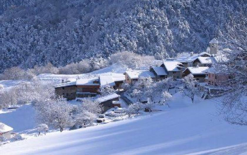 Location de vacances - Gîte à Saint-Marcel - Village en Hiver
