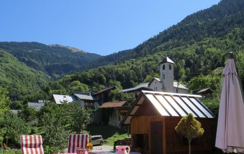 Location de vacances - Gîte à Saint-Marcel - Vue sur le village
