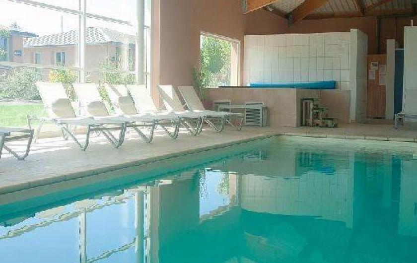 Location de vacances - Maison - Villa à Guissény - La piscine couverte et chauffée