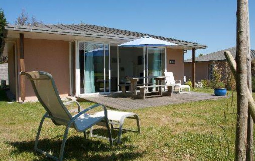 Location de vacances - Maison - Villa à Guissény - Jardin et terrasse