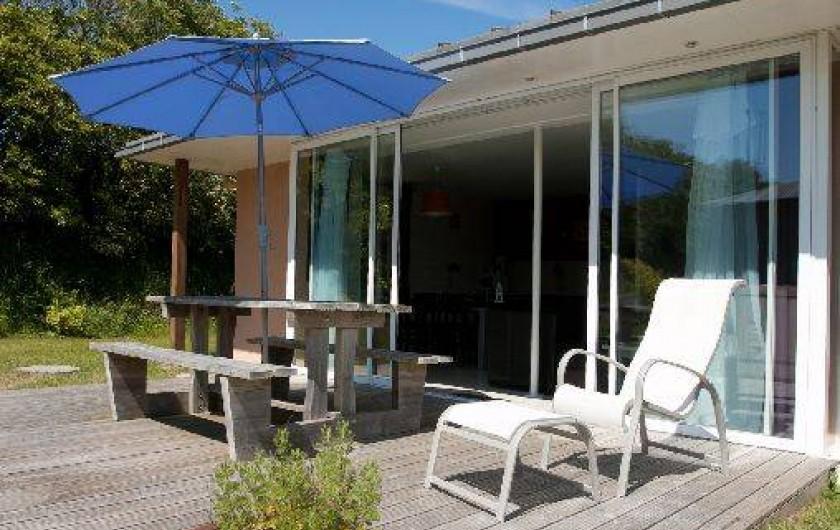 Location de vacances - Maison - Villa à Guissény - La terrasse