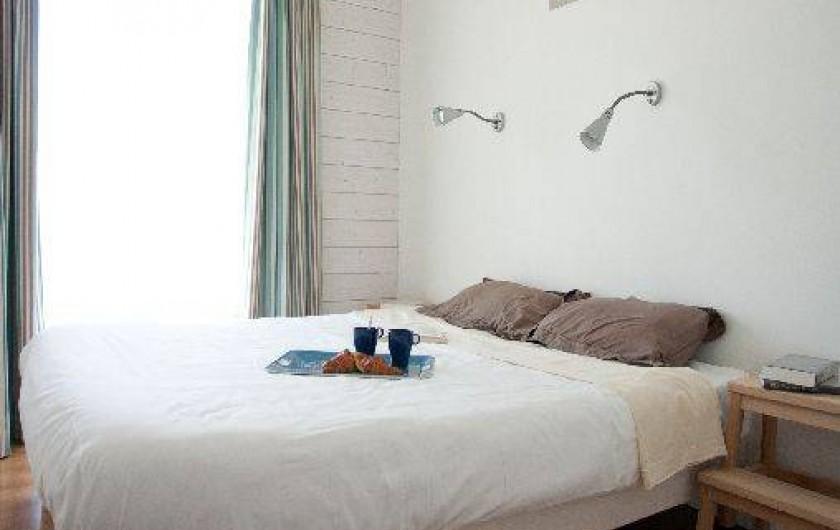 Location de vacances - Maison - Villa à Guissény - Une chambre parents