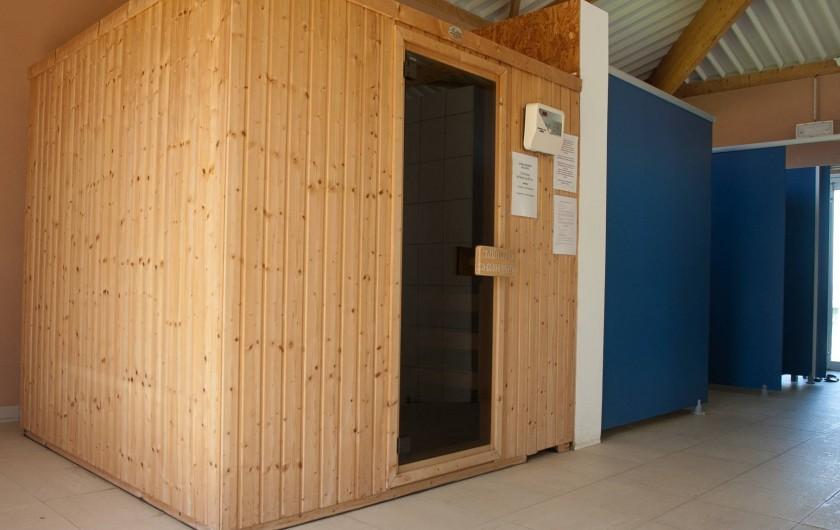 Location de vacances - Maison - Villa à Guissény - Le sauna