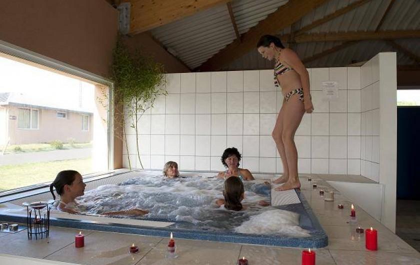 Location de vacances - Maison - Villa à Guissény - Le jacuzzi