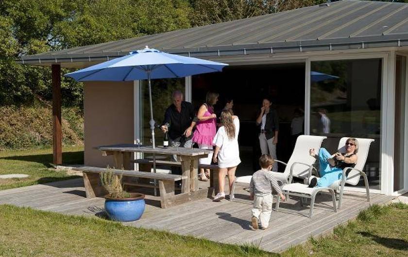 Location de vacances - Maison - Villa à Guissény - Terrasse