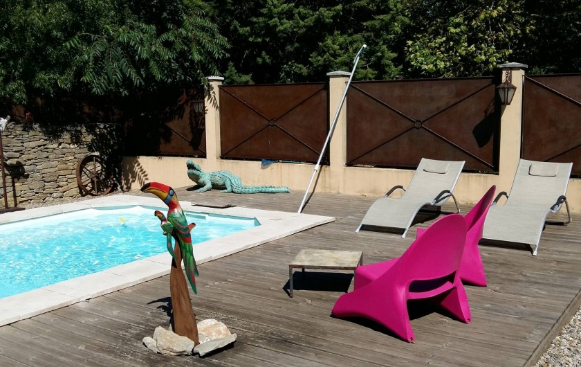 Location de vacances - Villa à Carcassonne - piscine