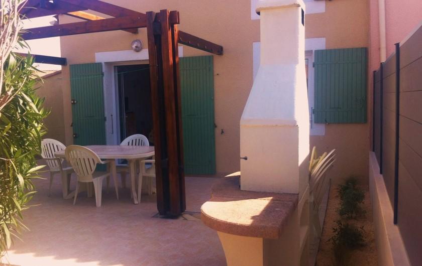 Location de vacances - Villa à Vic-la-Gardiole - Villa n°1 33m² 5 personnes (7 couchages) lave linge