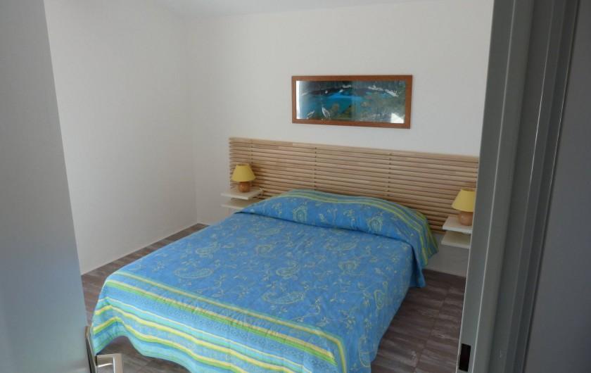 Location de vacances - Villa à Vic-la-Gardiole - chambre des parents villa n°3
