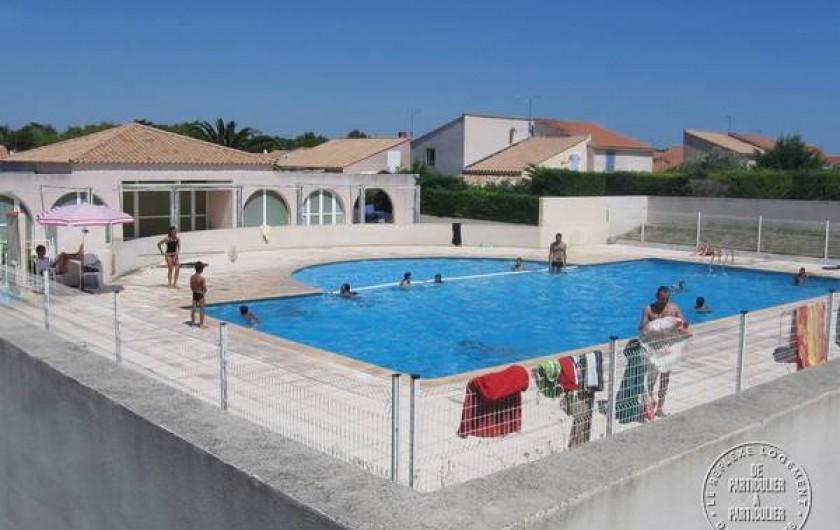 Location de vacances - Villa à Vic-la-Gardiole - Piscine  Résidence Les Cabrols