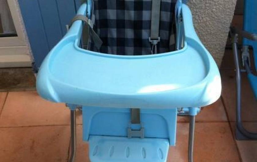 Location de vacances - Villa à Vic-la-Gardiole - Equipement bébé mis à disposition des vacanciers dans toutes mes locations.