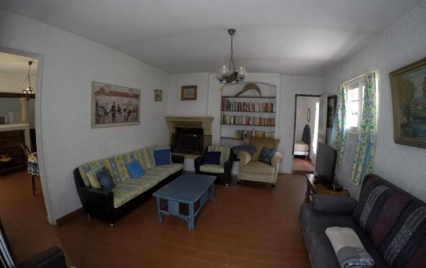 Location de vacances - Mas à Sainte-Maxime - le salon