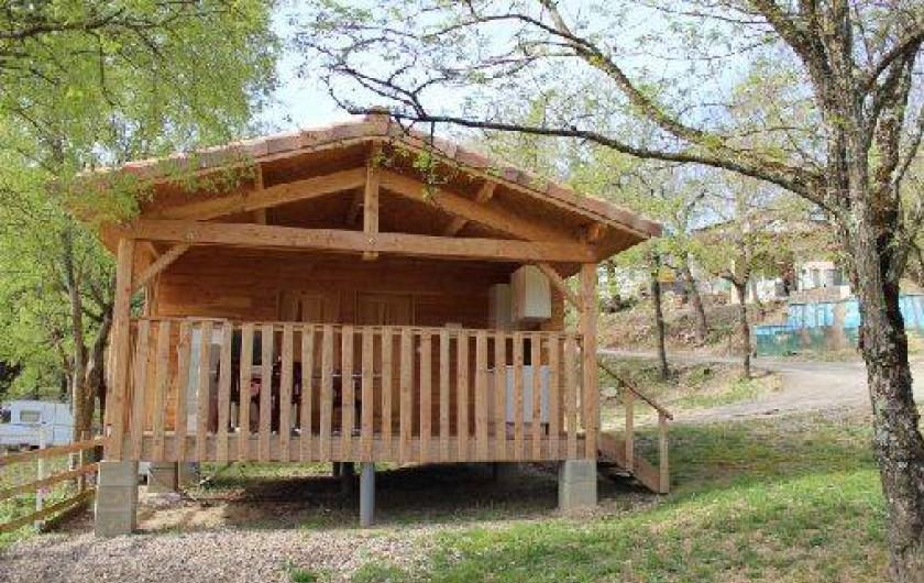 Location de vacances - Camping à Chauzon