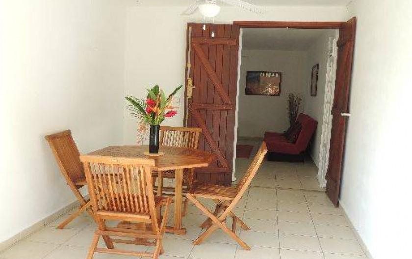 Location de vacances - Appartement à Le Gosier - La terrasse