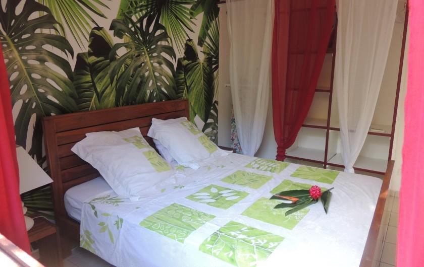 Location de vacances - Appartement à Le Gosier - Lit 160x200