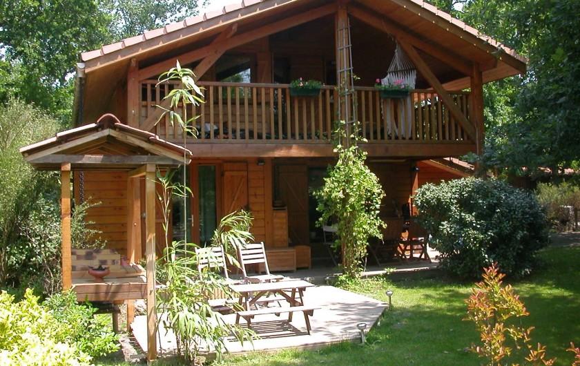 Location de vacances - Chalet à La Teste-de-Buch - vue exterieure