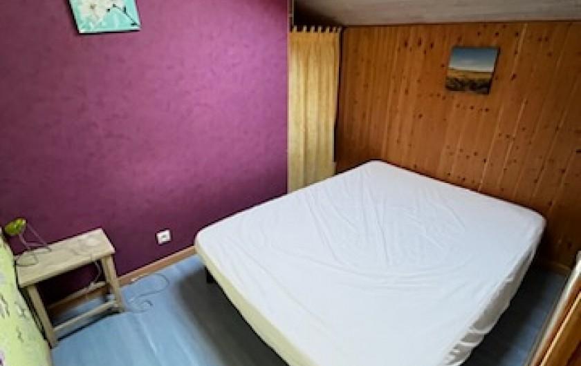 Location de vacances - Chalet à La Teste-de-Buch - salon avec accès étage
