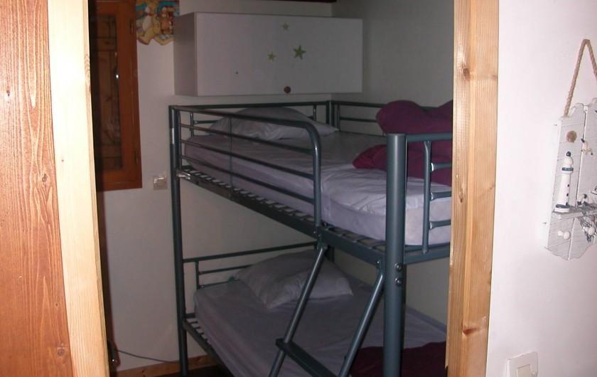Location de vacances - Chalet à La Teste-de-Buch - chambre rez de chaussée