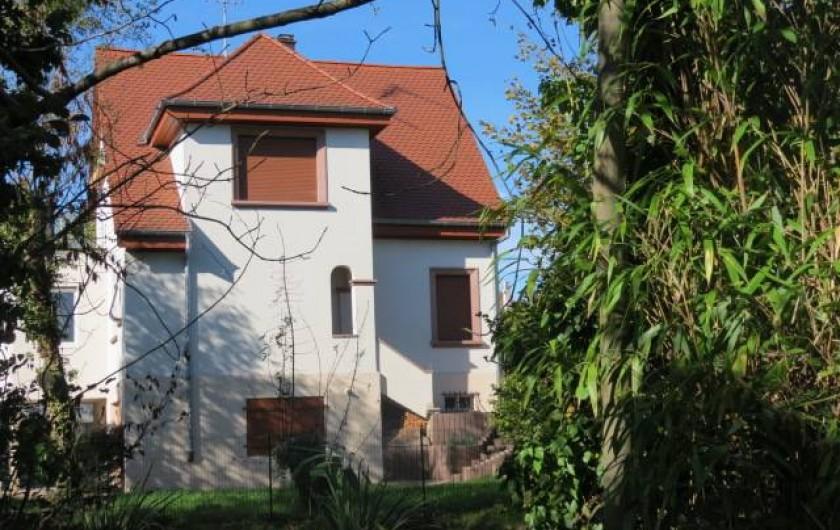 Location de vacances - Villa à Strasbourg - Krimmeri  vue générale