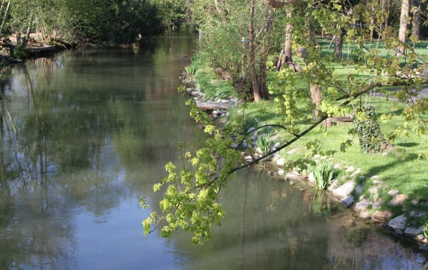 Location de vacances - Villa à Strasbourg - Rivière et ponton