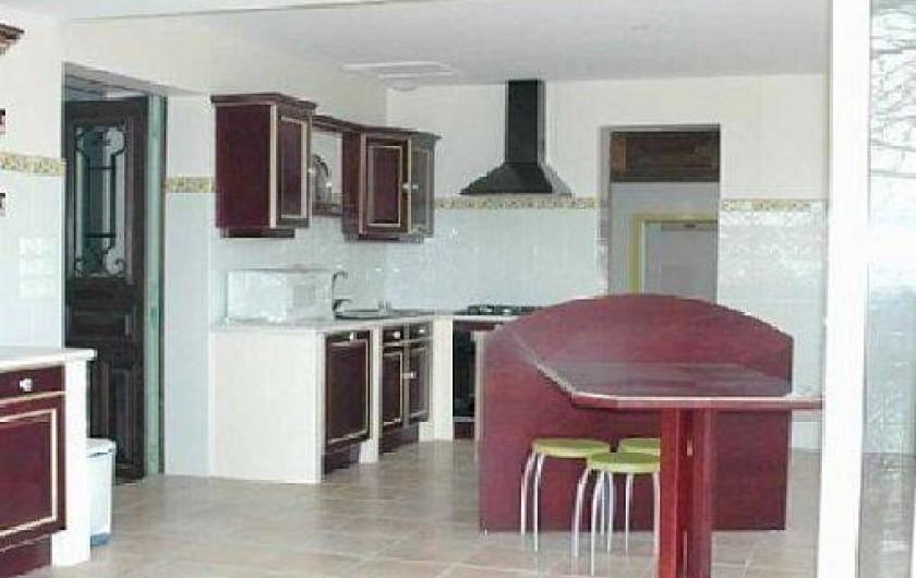 Location de vacances - Gîte à Caylus - gite de la colonie cuisine du haut