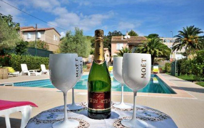 Location de vacances - Villa à Saint-Tropez