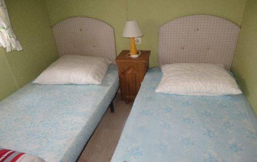 Location de vacances - Camping à La Palmyre - chambre 2