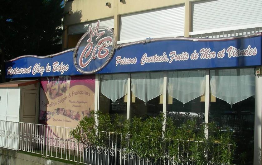 Location de vacances - Appartement à Agde - Restaurant à proximité 30m