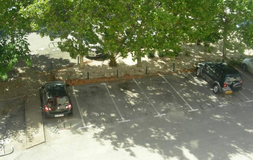 Location de vacances - Appartement à Agde - Place de parking numérotée