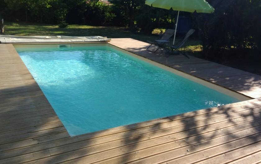 Location de vacances - Chambre d'hôtes à Sauternes - Piscine