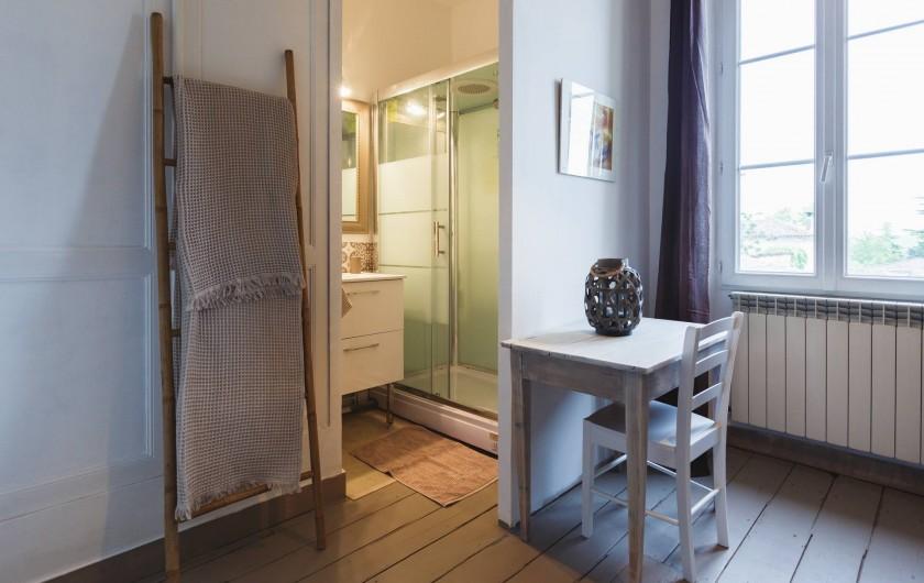 Location de vacances - Chambre d'hôtes à Sauternes - Salle d'eau Château Lamothe