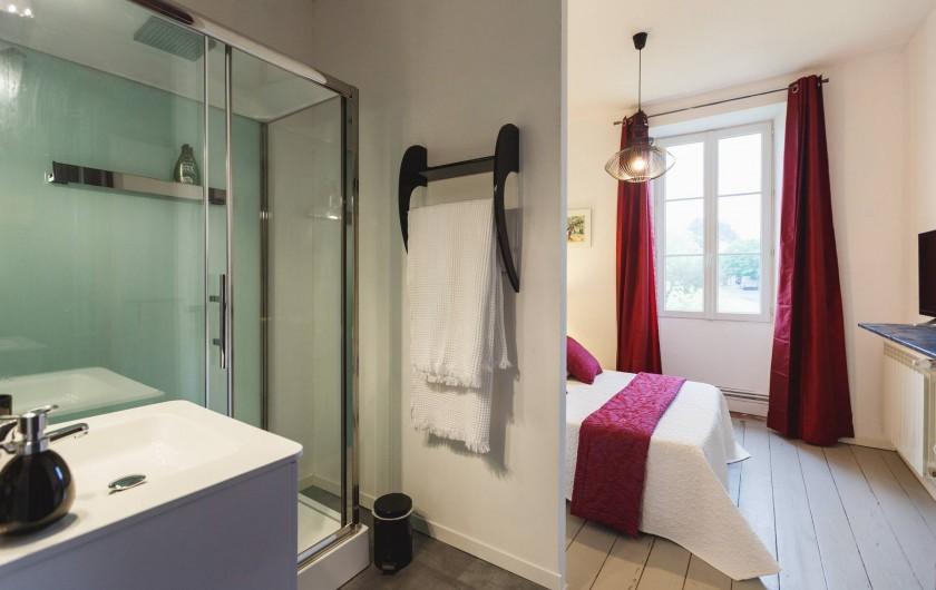 Location de vacances - Chambre d'hôtes à Sauternes - La tour Blanche Salle d'eau