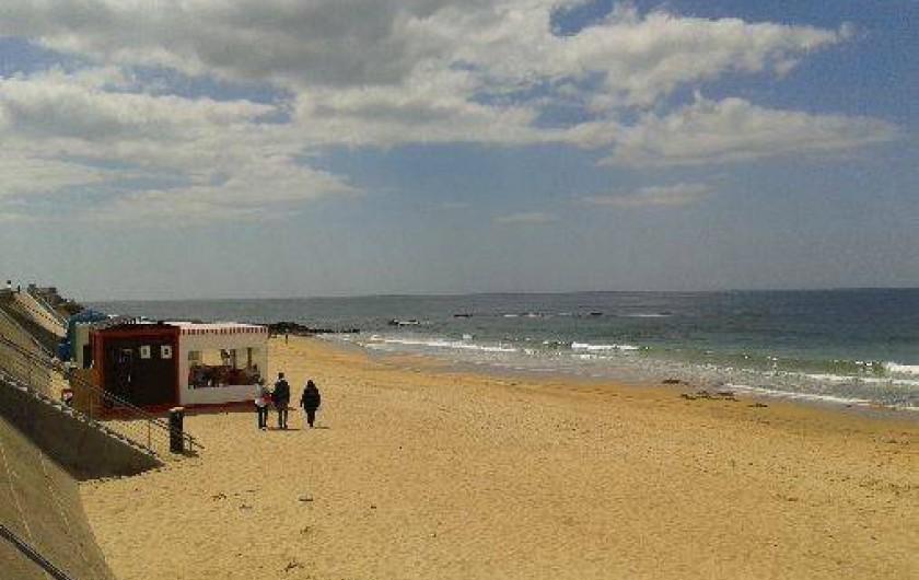 Location de vacances - Studio à Les Sables-d'Olonne - les cabanes-restaurants de la plage de Tanchet, les pieds dans l'eau...