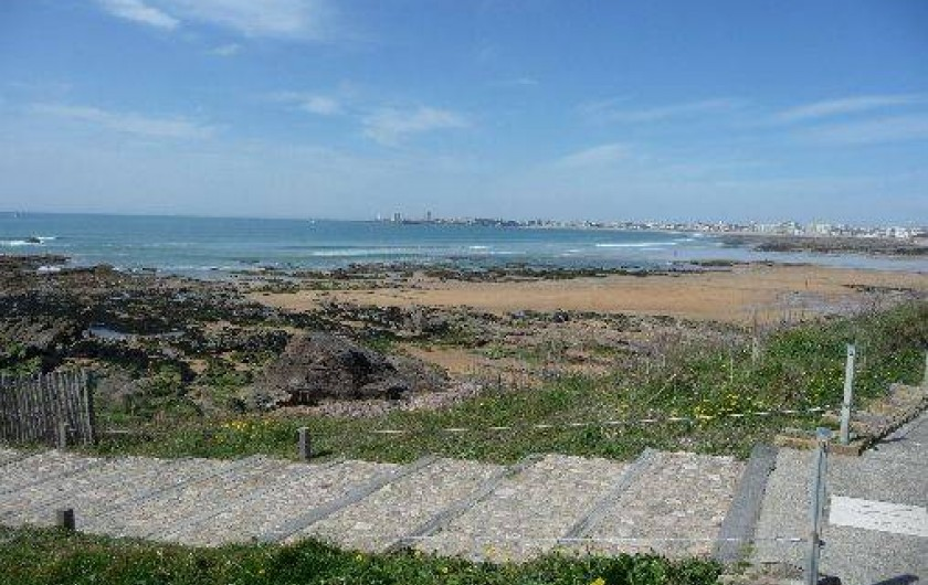 Location de vacances - Studio à Les Sables-d'Olonne - les pistes, pédestre et cyclable, en partant de la plage de Tanchet