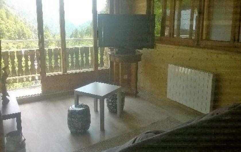 Location de vacances - Appartement à La Giettaz