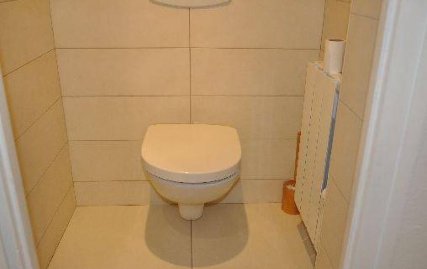 Location de vacances - Appartement à Morzine - WC indépendant