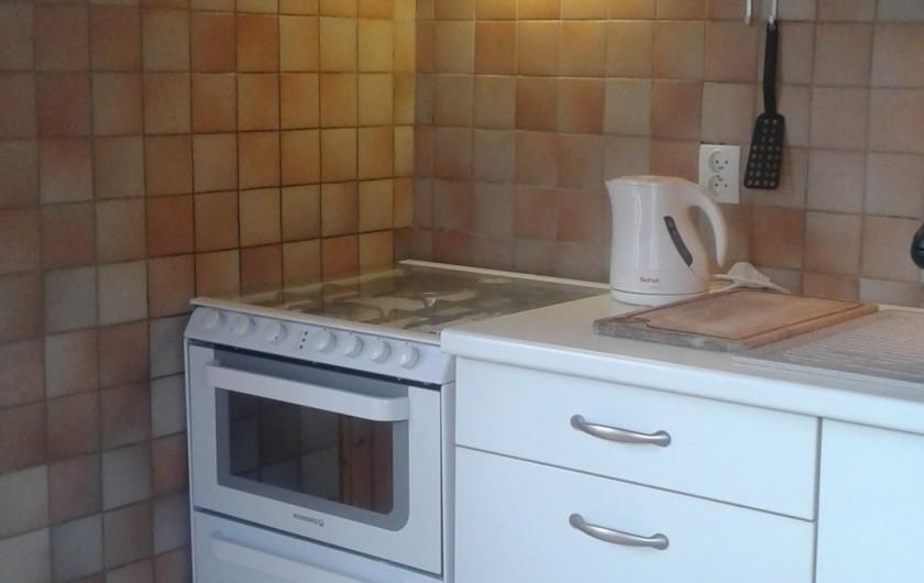 Location de vacances - Appartement à Morzine - cuisinière neuve 2020