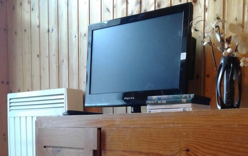 Location de vacances - Appartement à Morzine - Lecteur DVD et radiateur de la 2° chambre