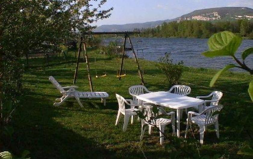 Location de vacances - Gîte à Bouvesse-Quirieu