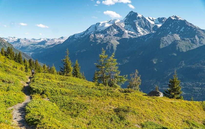 Location de vacances - Studio à La Rosière - Ski randonnée