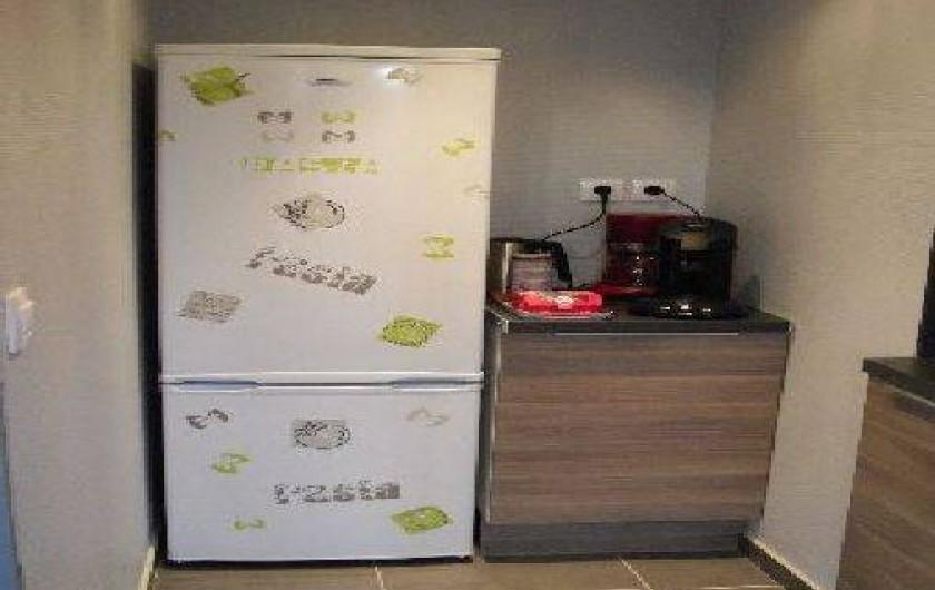 Location de vacances - Gîte à Metz - réfrigérateur-congélateur